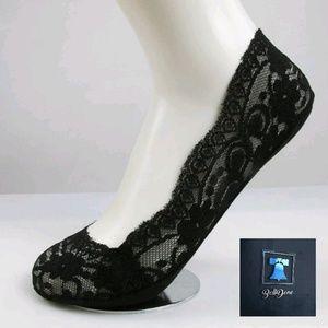 Lace Boat Socks Womens 1 Pair